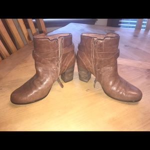 Cole Haan Ankle Booties Size 6 Brown